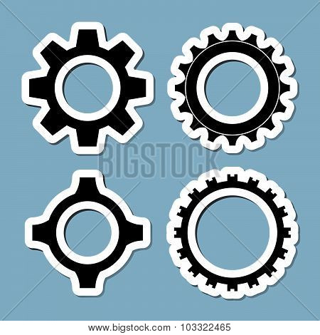 Gear Icon Set