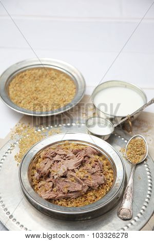special meat rice service