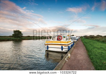 Boats On The River Bure