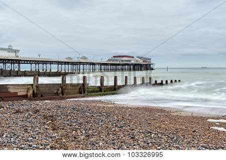 Stormy Day At Cromer Pier