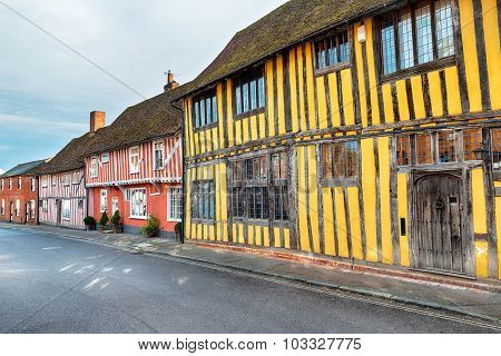 Half Timbered Medieval Houses