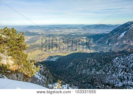 City Of Bad Reichenhall - Mountain View