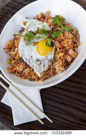Rice, Shrimp And Egg