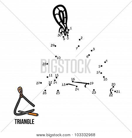 Numbers Game: Musical Instruments (triangle)