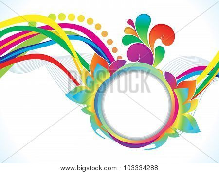 Abstract Artistic Colorful Explode Background