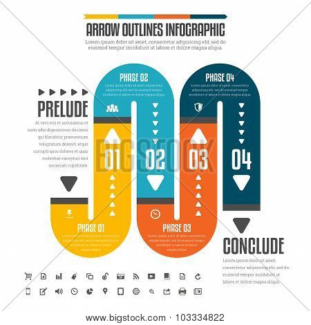 Flat Pipe Infographic