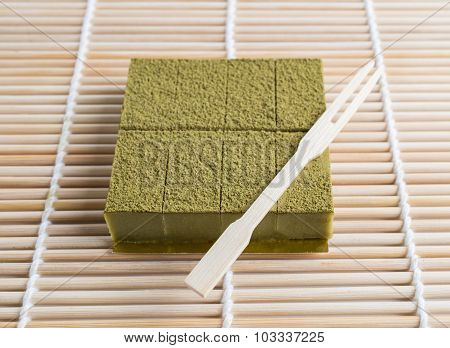 Nama Chocolate Matcha , Green Tea