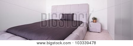 King Size Quilted Bed