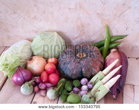 Many Types Of Vegetables