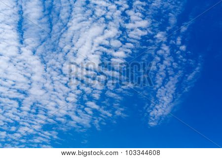 Peaceful white clouds