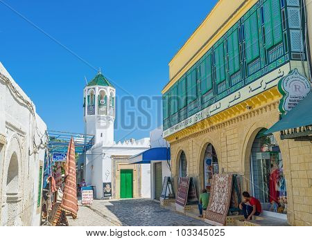 The Mosque In Medina