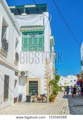 Walking In Medina