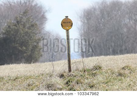 Pipeline Sign