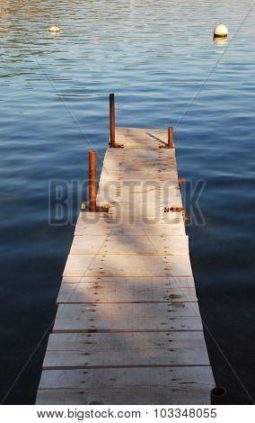 Boardwalk In Bakar Harbour
