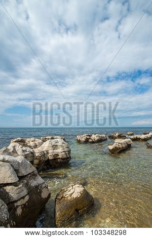 Sunny Day On The Adriatic Coast