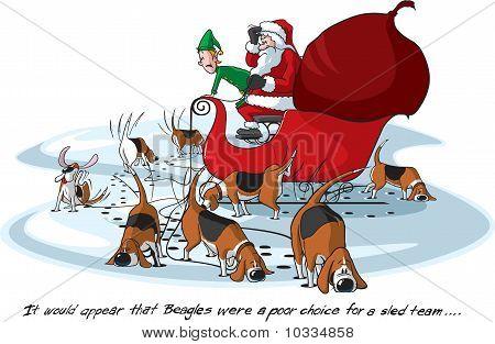 Santa's beagles