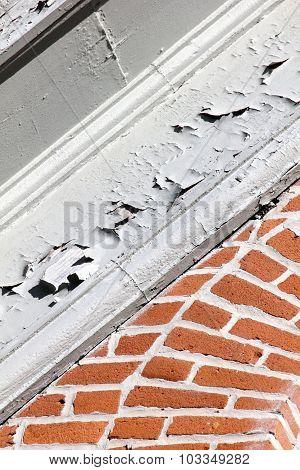 Peeling Paint & Brick