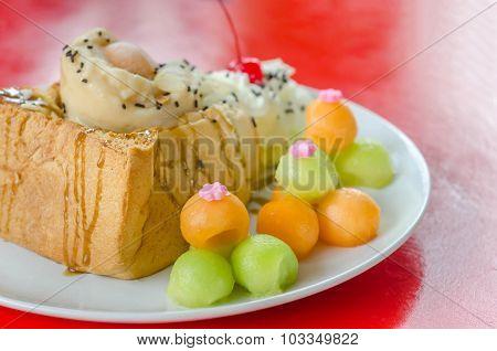 Melon Toast