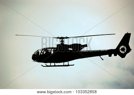 Army Helicopter Gazelle