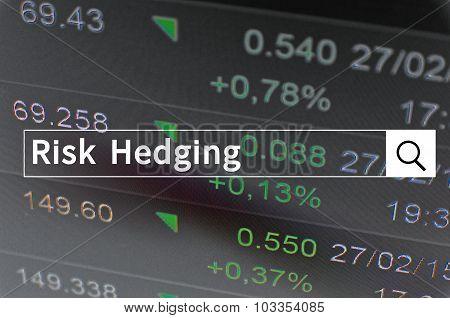 Risk hedging