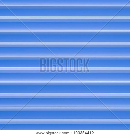Blue aluminium metal plate texture and background