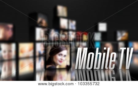 Mobile Tv Concept, Lcd Panels