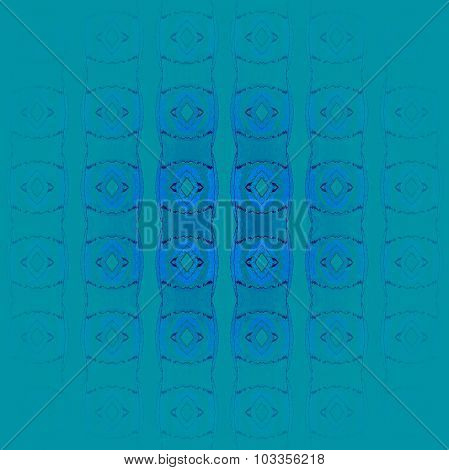 Seamless ellipses pattern turquoise