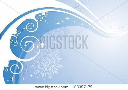 Winter Wind Background