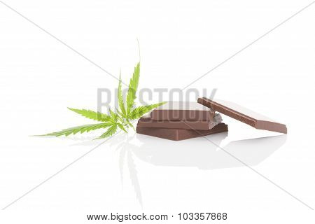 Cannabis Chocolate.