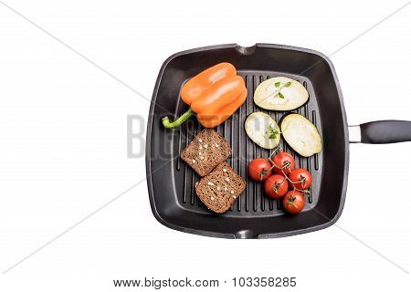 Fresh Vegetables On A Plate