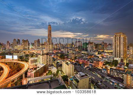 Bangkok, Thailand cityscape.
