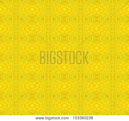 Seamless pattern yellow green