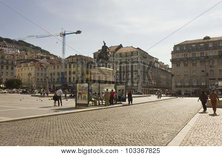 Figuera Square In Lisbon