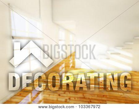 Decorating Home Creative Conceptual Illustration