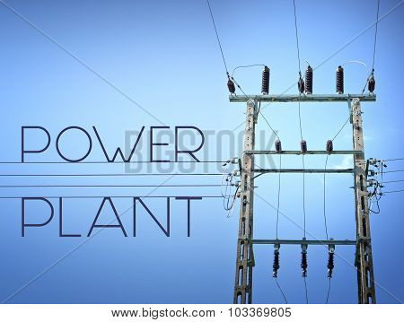 Power Plant High Voltage, Concept Of Electricity