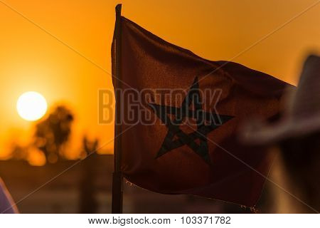 Sunset Over Morocco