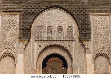 The Medersa Ben Youssef In Marrakech
