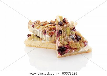 Rhubarb Cake.