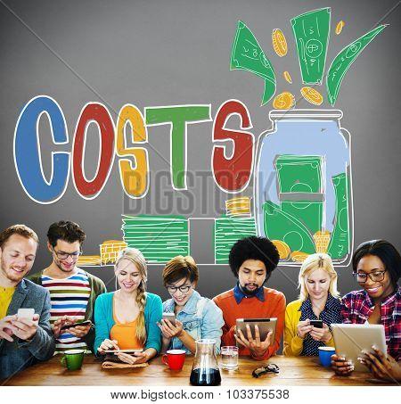 Costs Capital Budget Investment Economic Concept