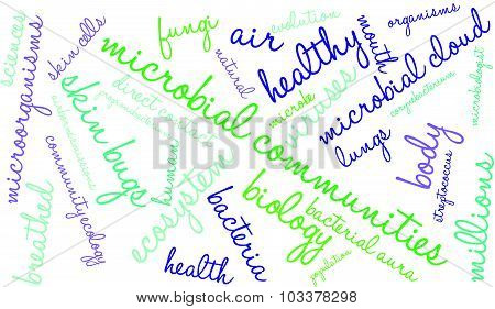 Microbial Communities Word Cloud