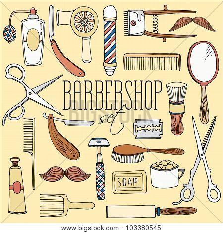 Barbershop set