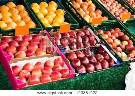 Fresh Fruits In Market