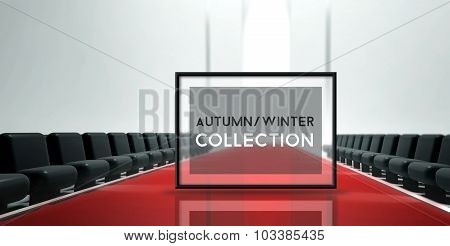 Red Carpet Runway Fashion Autumn Winter Collection