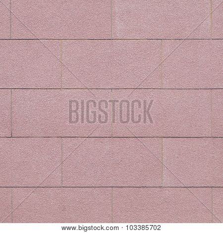 Red cement or concrete wall texture and background seamless
