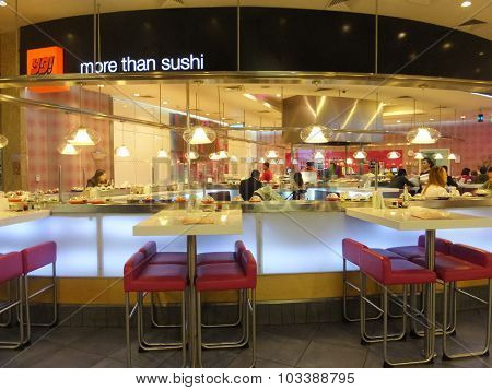 Yo Sushi at Dubai Mall in the UAE