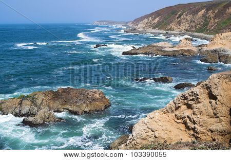 Bodega Head Peninsula And Coast