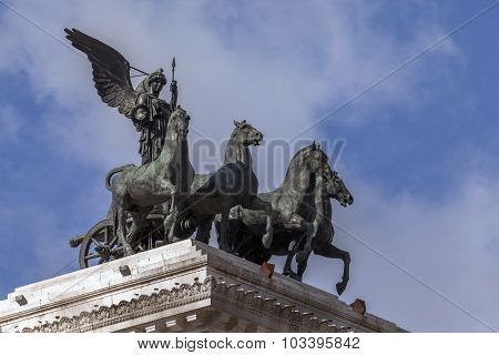 Quadriga Of Freedom