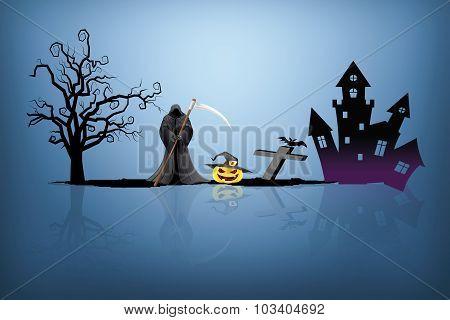 Halloween Background Idea Concept
