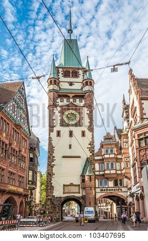Martinstor - Old Gate To Freiburg City
