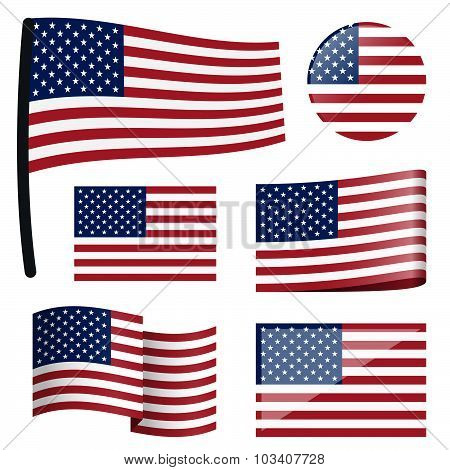 Collection Flags Usa